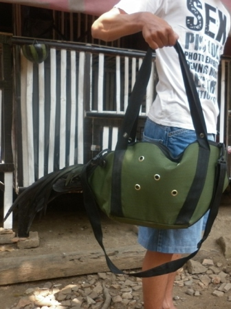 Pemikat ayam hutan sumatera