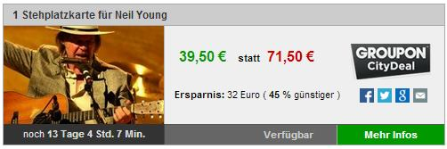 Groupon Ticket Ulm
