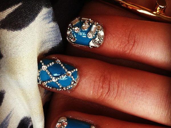 Balmain-Inspired Nails