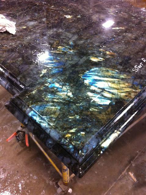The Granite Gurus Slab Sunday Lemurian Blue