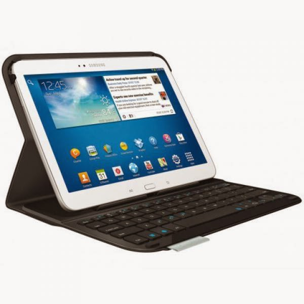 Keyboard Slim Galaxy Tab 4 Logitech Ultrathin Folio