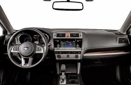 2016 Subaru Legacy interior