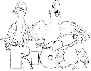 Desenhos do Rio para imprimir
