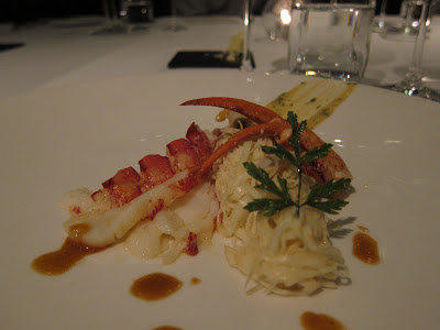Lobster at Celeste Prague