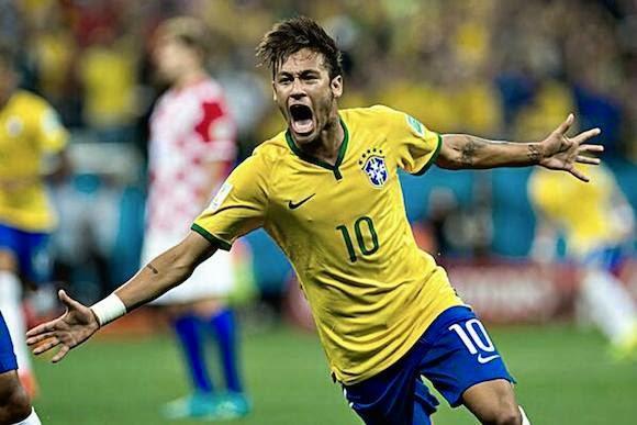 Neymar, Mundial Brasil 2014, parte 2