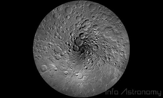 Air Bersembunyi di Bulan dari proto-Bumi
