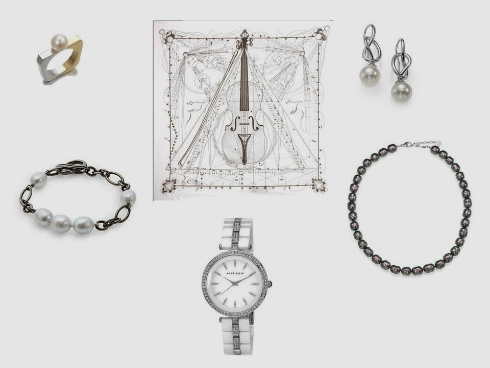 jewelry to wear with Musique des Spheres Hermes scarf