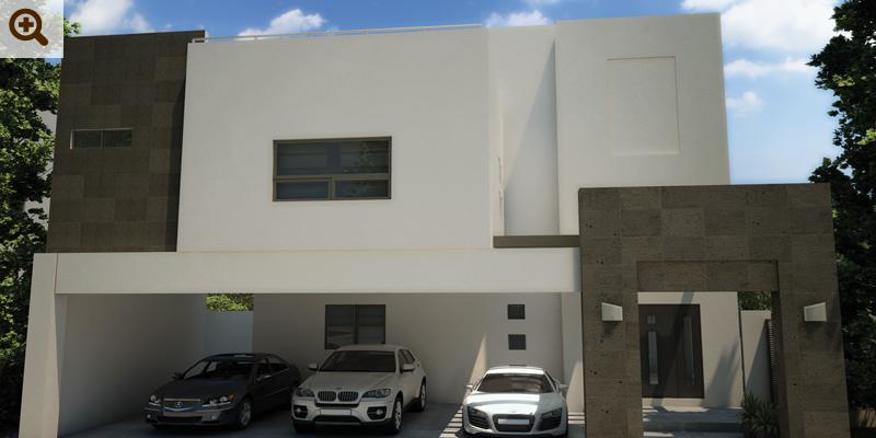 Fachadas contempor neas fachadas contempor neas en san for Interiores de casas contemporaneas