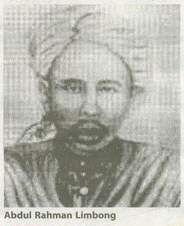 Biodata Haji Abdur Rahman Limbong bin Haji Abdul Hamid | Ulama Nusantara