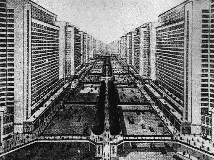 Le Corbusier Ville Contemporaine De Trois Millions D Habitants