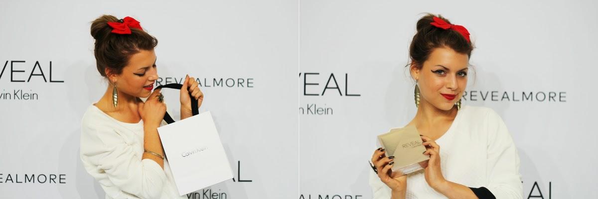 calvin klein reveal perfume party new york