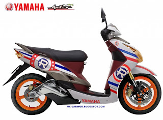 Modifikasi Yamaha Mio Sporty, Mio Matic terkeren