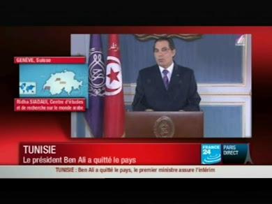 Riadh Sidaoui à France 24: Sociologie de la Révolution Tunisienne