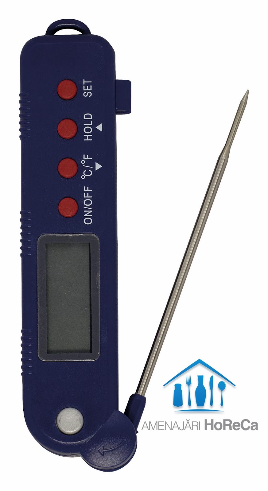 Termometru bucatarie cu sonda pliabila, Pret termometru profesional bucatarie