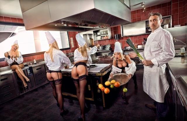 Rkelly sexe dans la cuisine