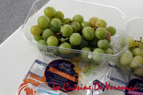 Tropical Flavour Grapes 熱帶生果味提子