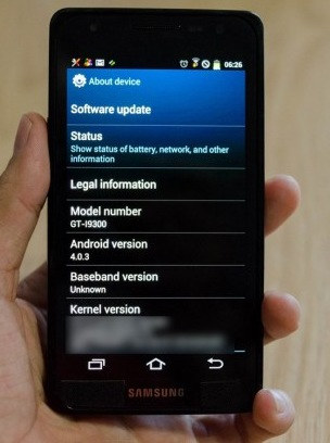 how to change time on samsung s4