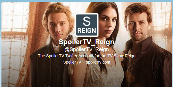 New Twitter Account created for Reign