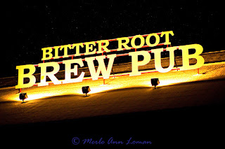 Bitter Root Brew Pub photo by Merle Ann Loman