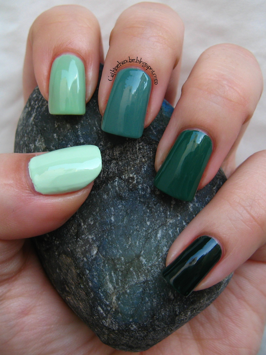 Matching Manicures - ombre | Cajkine kandže i sve njihove boje