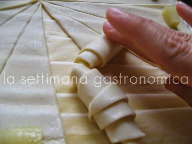 Cornetti di pasta sfoglia