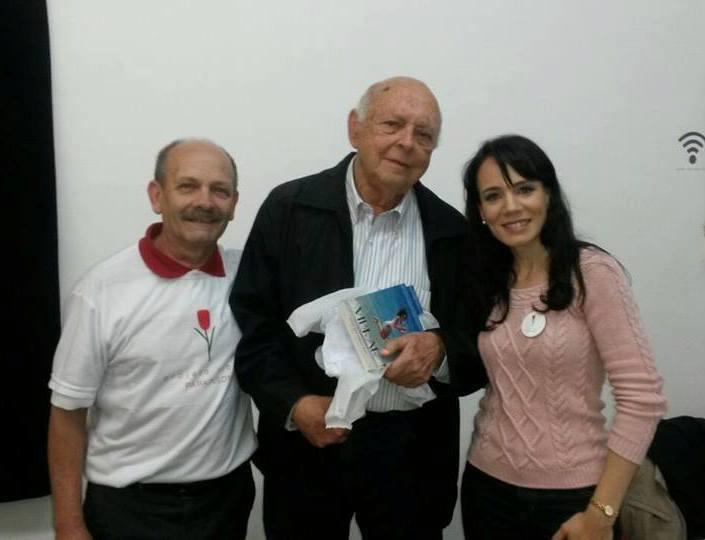 Manoel, Sr. Samuel Grossmann e Danielle
