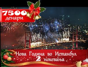 Нова Година Во Истанбул