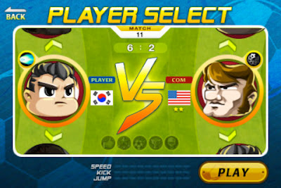 head soccer iphone partita