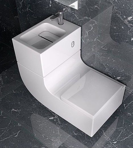Relaxshackscom The WW water recycling toilet from Roca