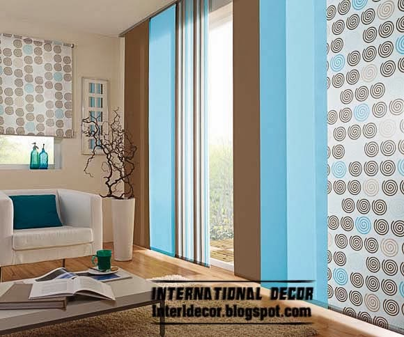 japanese curtains, japanese door curtains, blue curtain panels