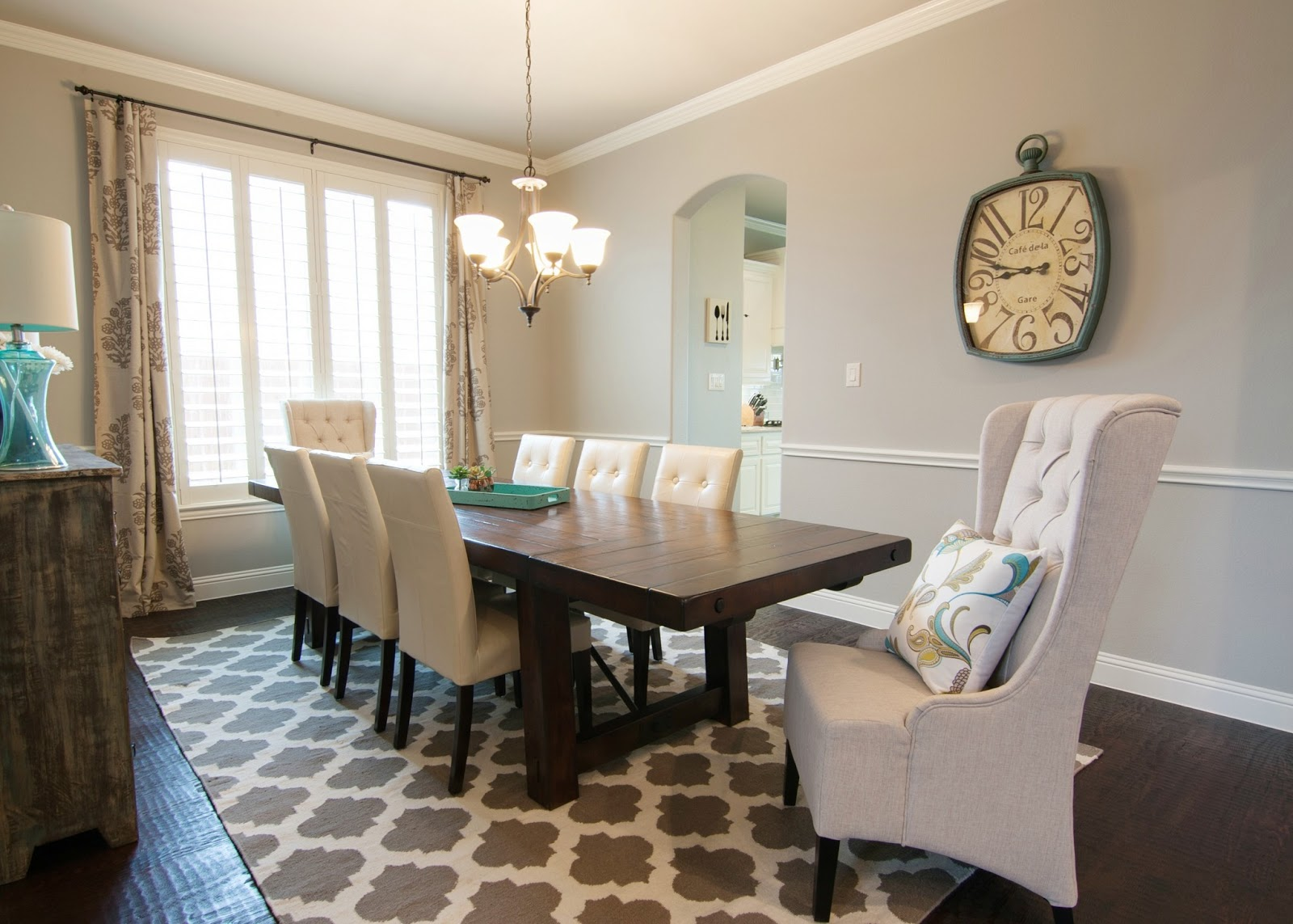 Dining room ideas 2013 -  Dining Room Tour