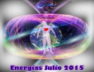 ¿Qué Energía y experiencias podemos esperar en julio 2015?