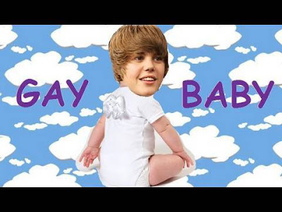 justin bieber is gay baby. justin bieber baby wallpaper.