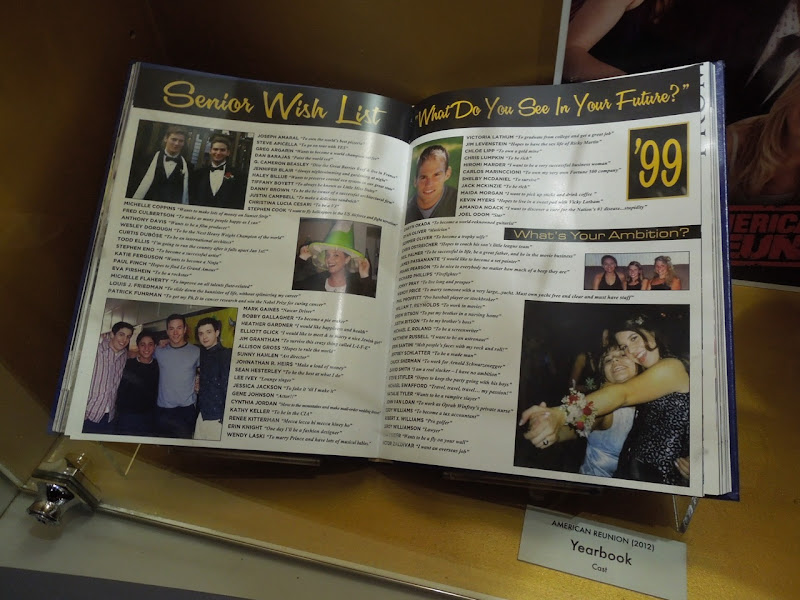 American Reunion yearbook prop