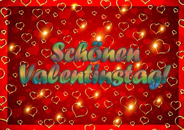 Schöne Valentinstagbilder