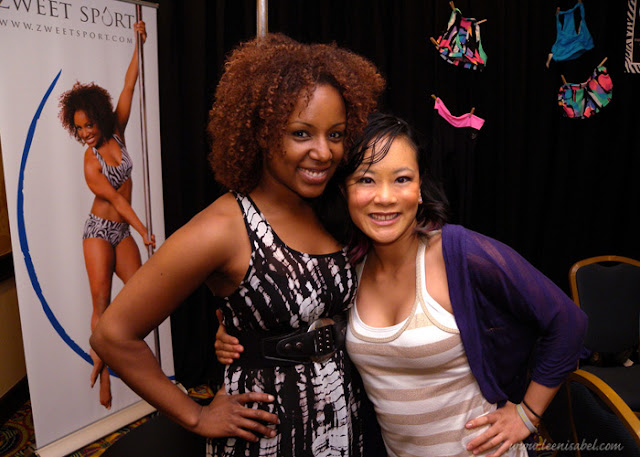 Kelly Yvonne, owner of The Choreography House and head of Girls Next Door: A Pole Dance Soiree