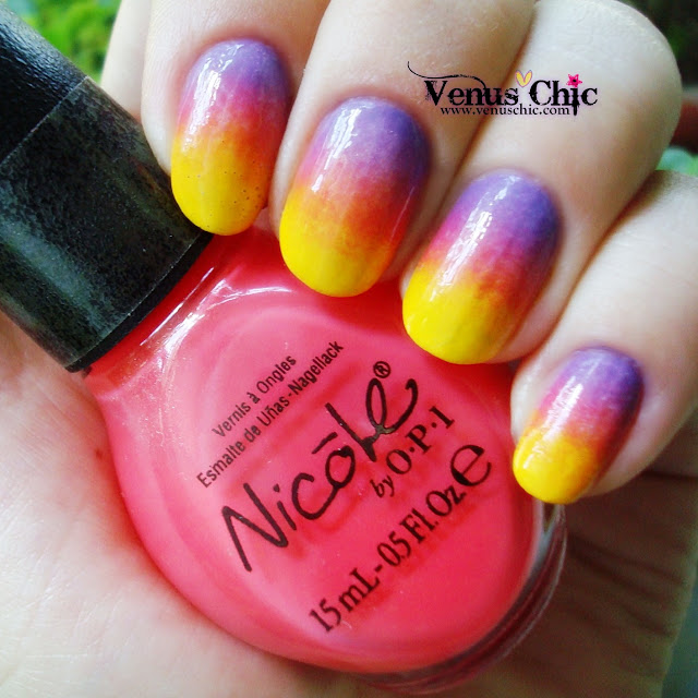 Nicole by O.P.I. Love Song - NI G10, Find Your Passion - NI 254, Hit The Lights - NI G09
