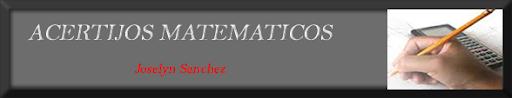 Acertijos Matematicos