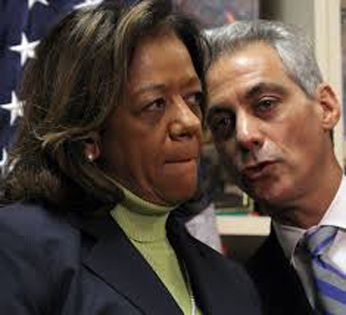 Barbara Byrd-Bennett was CEO of Chicago Public Schools and did all the dirty work when it cane to implementing Mayor Rahm Emanuel's plan to shut 50 of those schools.