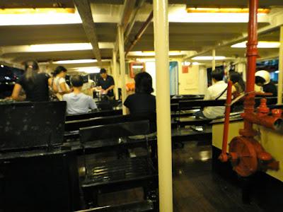 Onboard the Hong Kong ferry