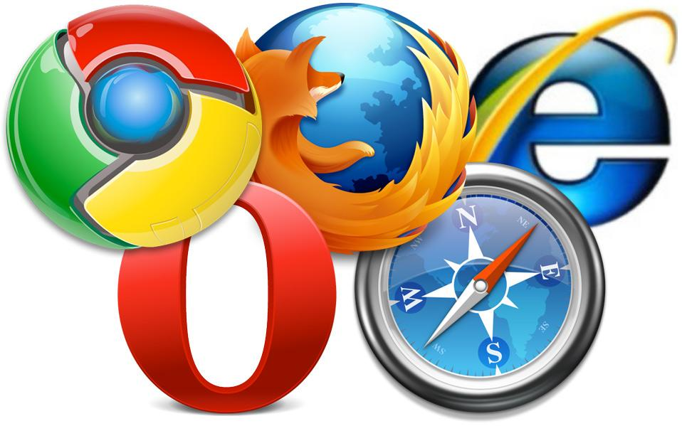 web browsers in android and windows