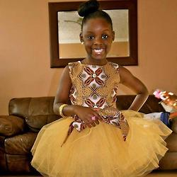 beautiful ankara for kids