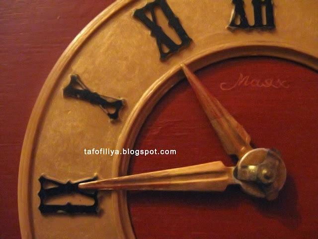 старые часы, часы Маяк, реставрация часов, часы с кукушкой