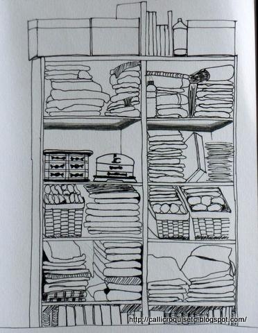 Dessins et croquis etc mon armoire - Dessin d armoire ...