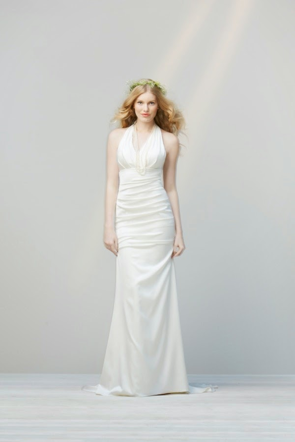 Simple non traditional wedding dresses dress pictures for Simple classic wedding dress