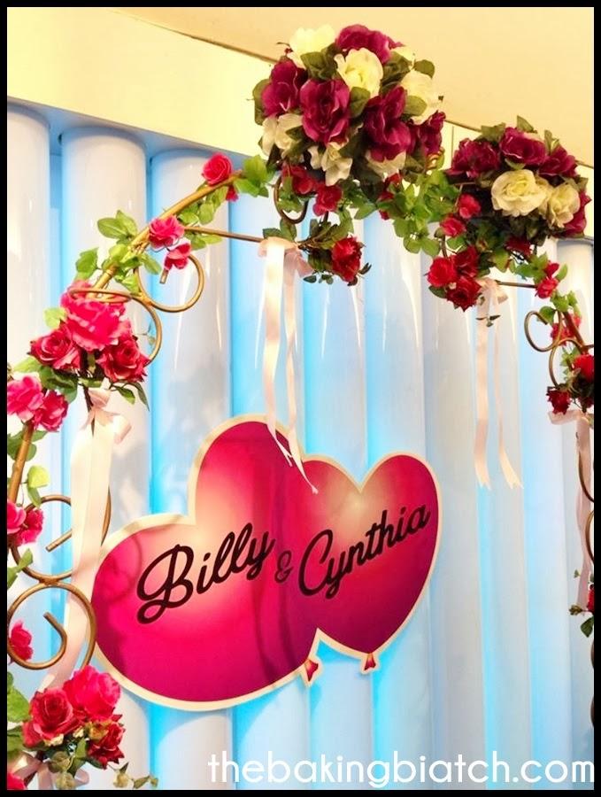 Name board wedding