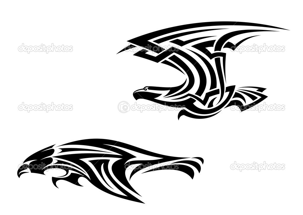 birds tattoos for you pictures of tribal bird tattoos. Black Bedroom Furniture Sets. Home Design Ideas