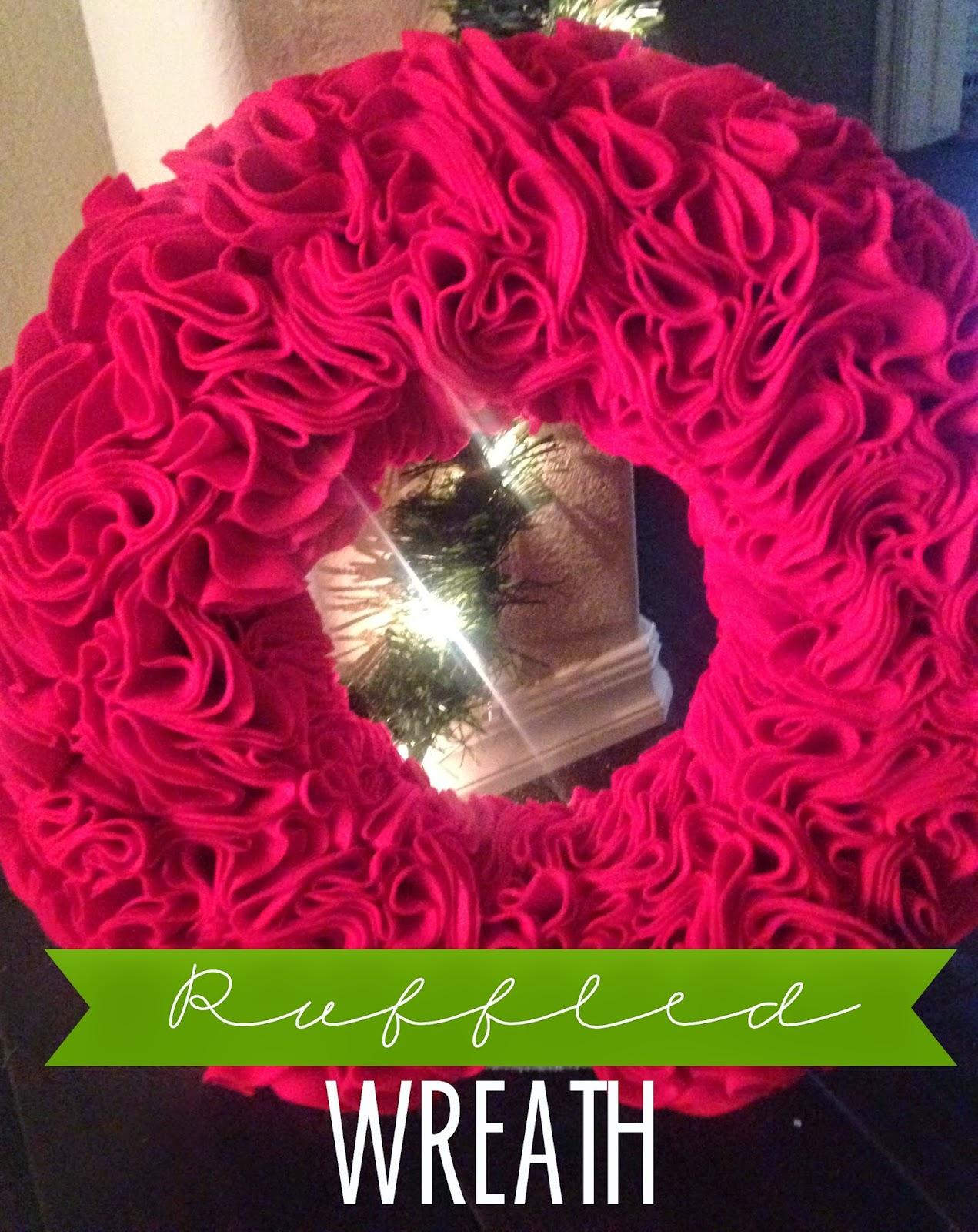 http://thenewmrsadventures.blogspot.com/2014/12/ruffled-wreath-diy.html#.VKjTEN5Z-uc