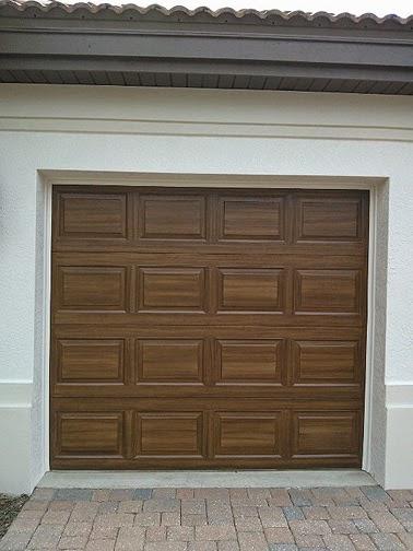Everything I Create Paint Garage Doors To Look Like Wood