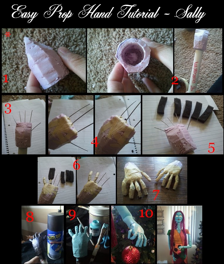 - DIY Nightmare Before Christmas Halloween Props: 2013